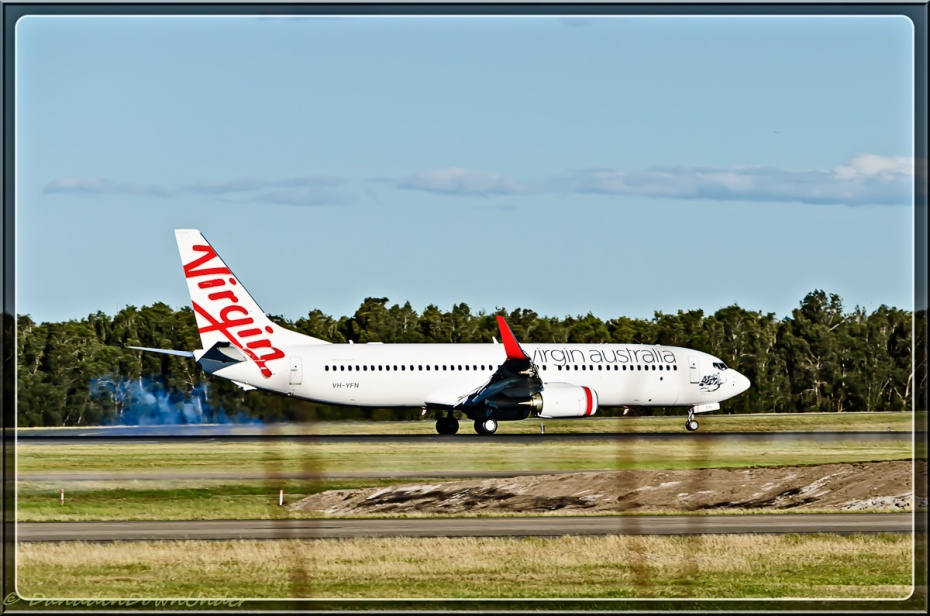 Virgin Touchdown